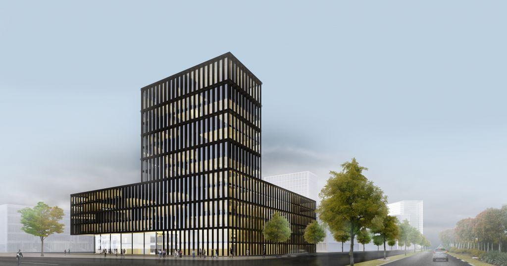 Hochhausbau Loksite