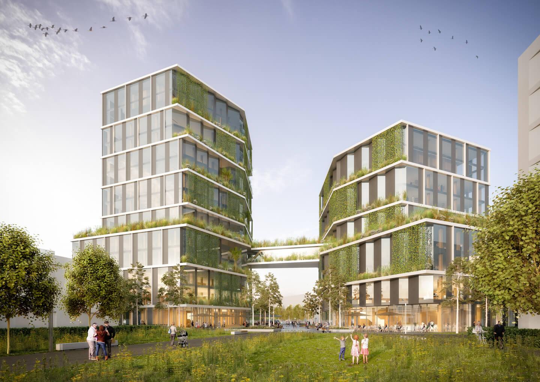 Hochhausbau München